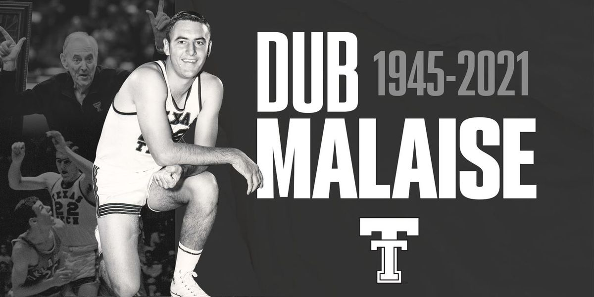 Texas Tech Athletics mourns passing of Dub Malaise
