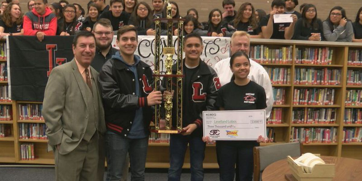 Levelland honored as Battle of the Bands Champion