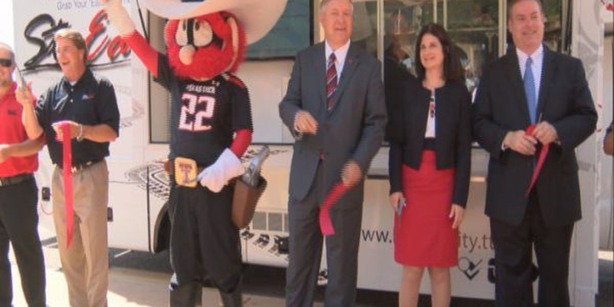 Texas Tech unveils new campus food truck