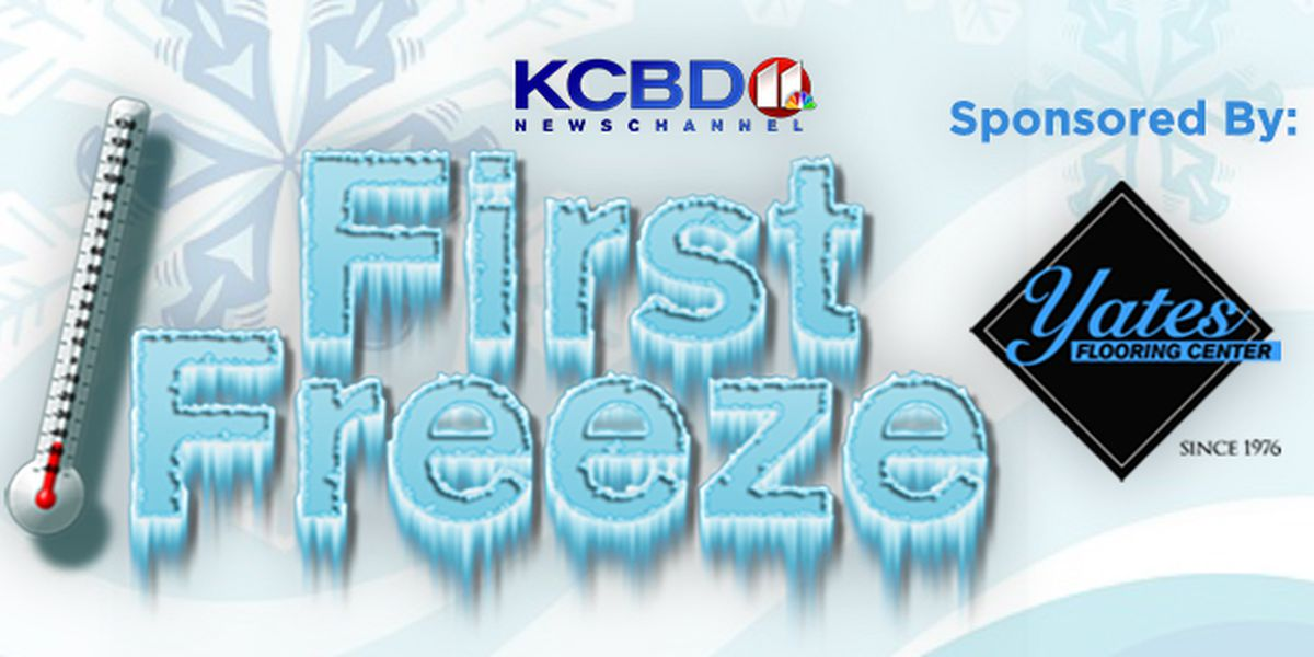 KCBD First Freeze