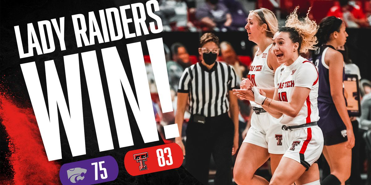 Lady Raiders rally to force overtime and beat Kansas State