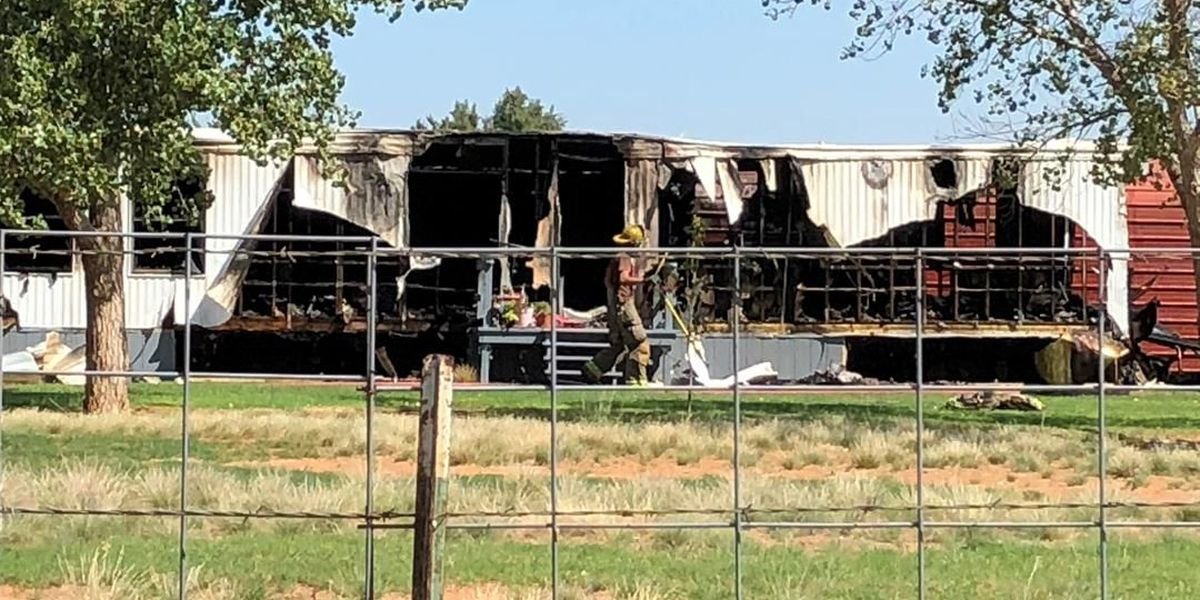 No injuries reported in Lubbock County fire that destroys home