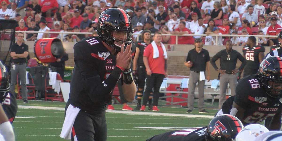 Red Raiders roll past UTEP 38-3