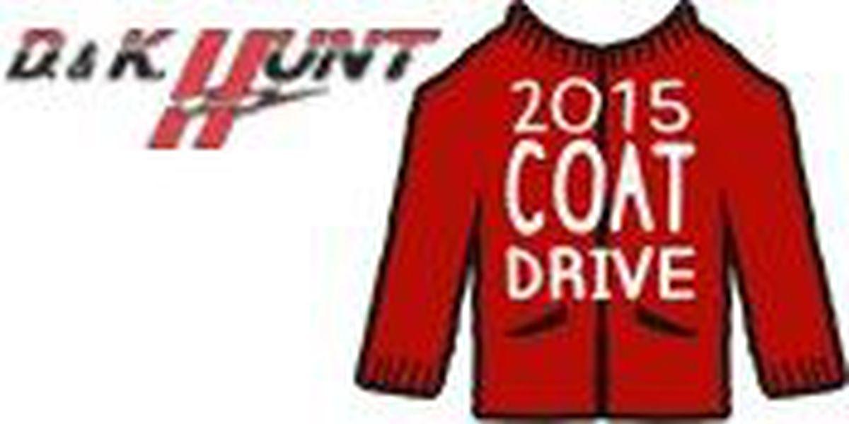 D & K Hunt Electric kicks off 2015 coat drive