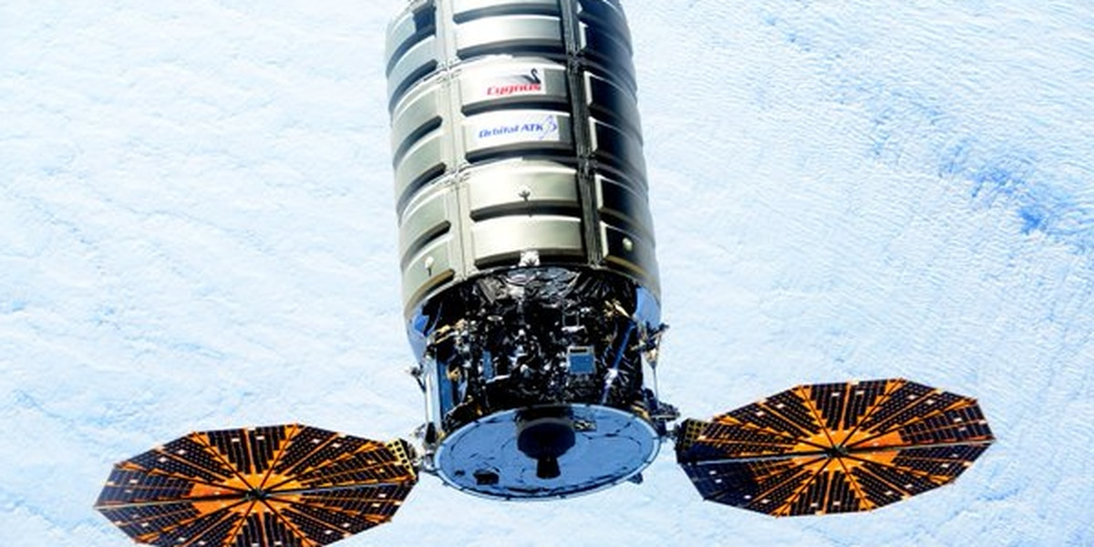 Orbital ATK names space station freighter in honor of TTU grad