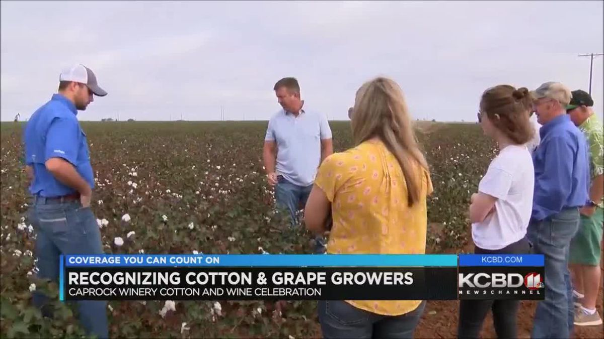Recognizing cotton and grape growers