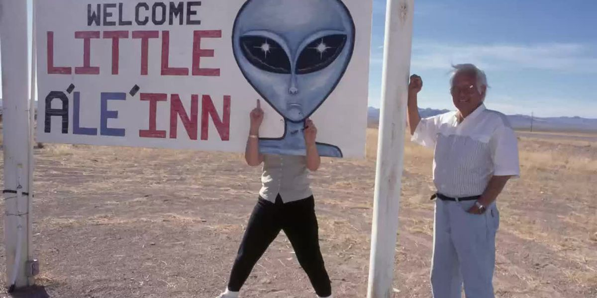 How did Area 51 become the site of alien conspiracy theories?