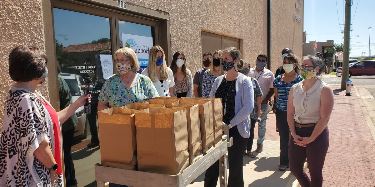 Pay It Forward: WesTex gives back to City of Lubbock's Health Department