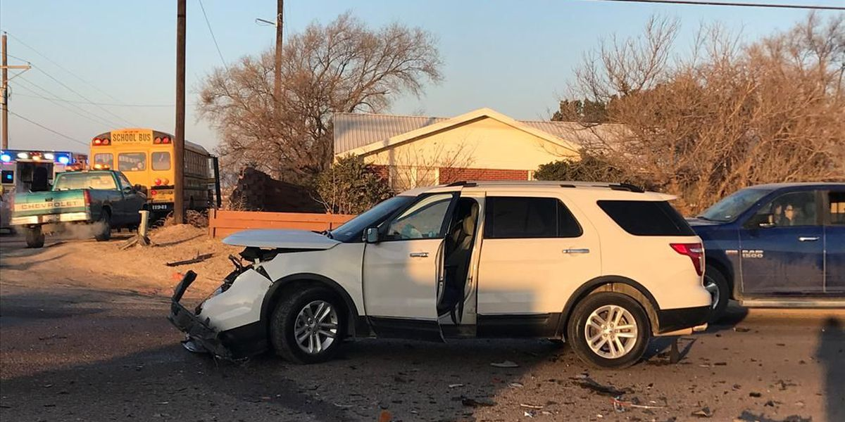 Minor injuries reported after fiery crash at 66th St & Upland Ave