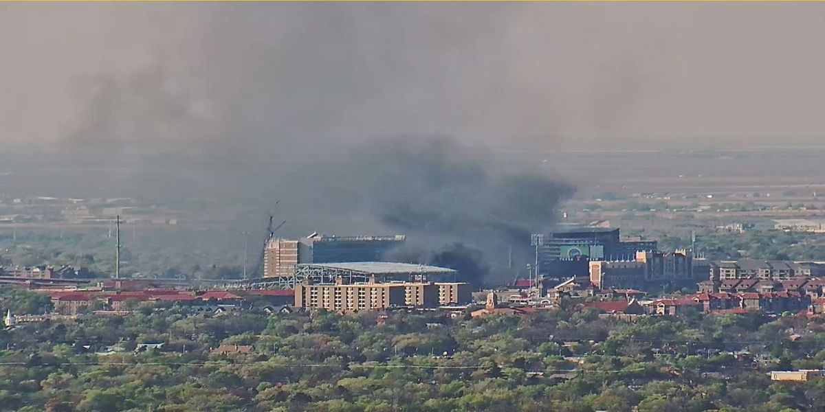 Fire officials extinguish burning roofing material at Jones AT&T Stadium practice facility