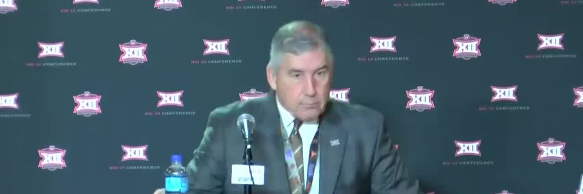 Big 12 commissioner announces tournament cancellation