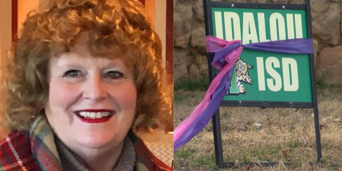 'Mrs. Bush's Locker' continues legacy of longtime Idalou educator after second battle with cancer