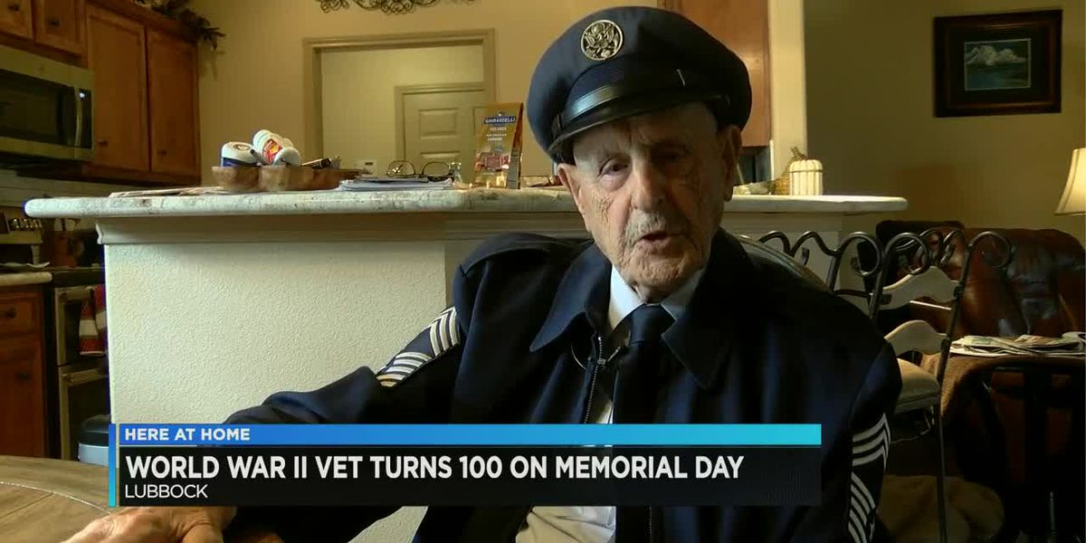 WWII veteran turns 100 on Memorial Day