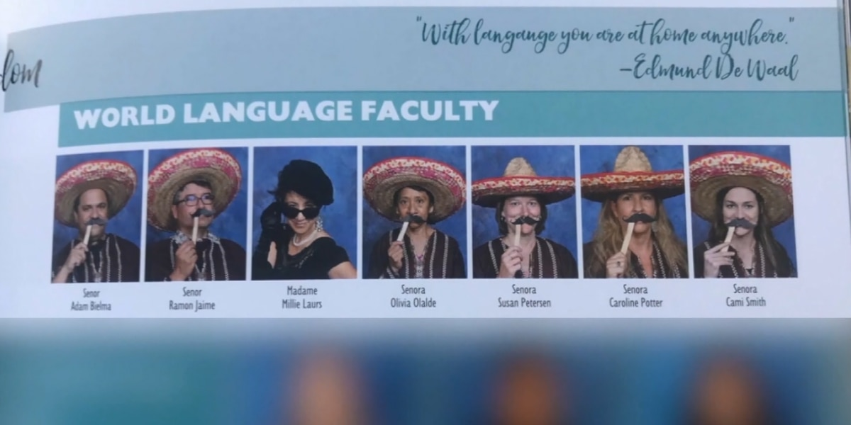 Language teachers face blame for 'culturally insensitive' yearbook photos