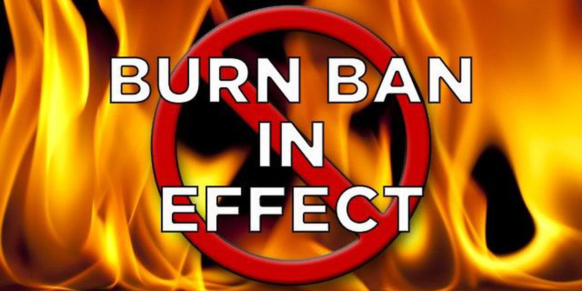 Lubbock County Commissioners issue burn ban for Lubbock County