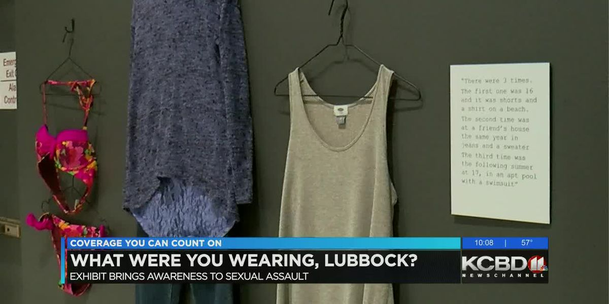 Exhibit brings awareness to sexual assault