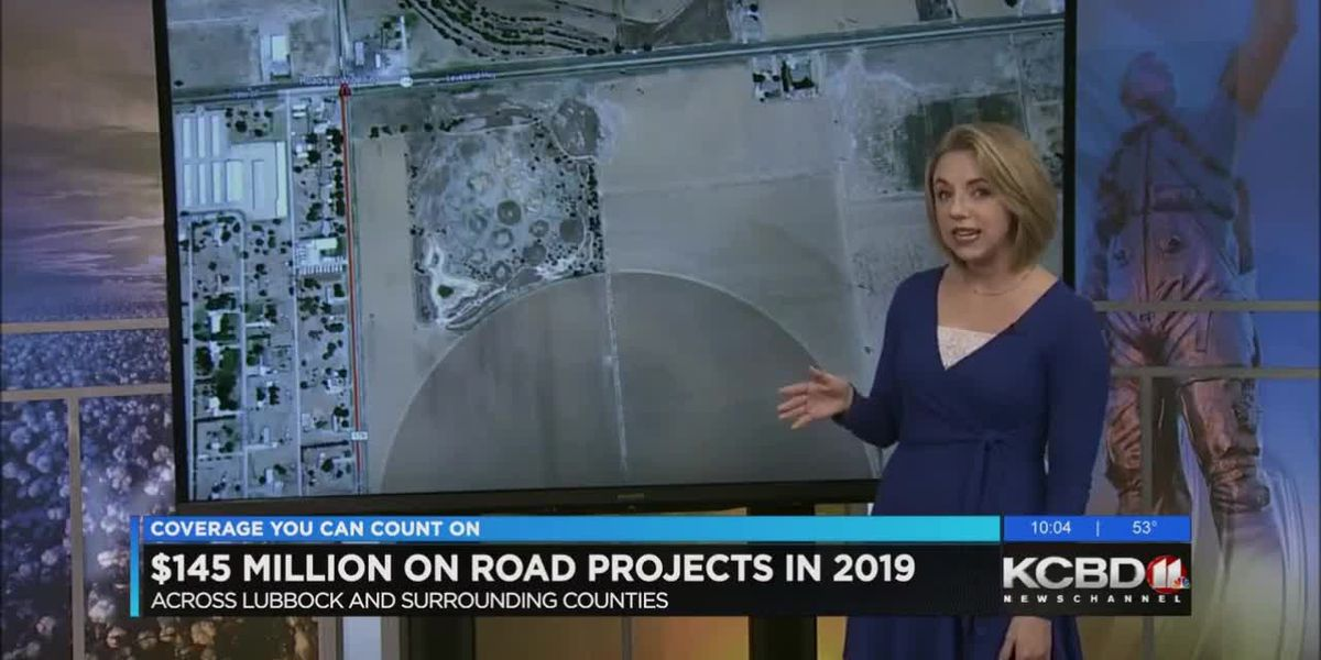 $145 million budgeted for road projects in 2019
