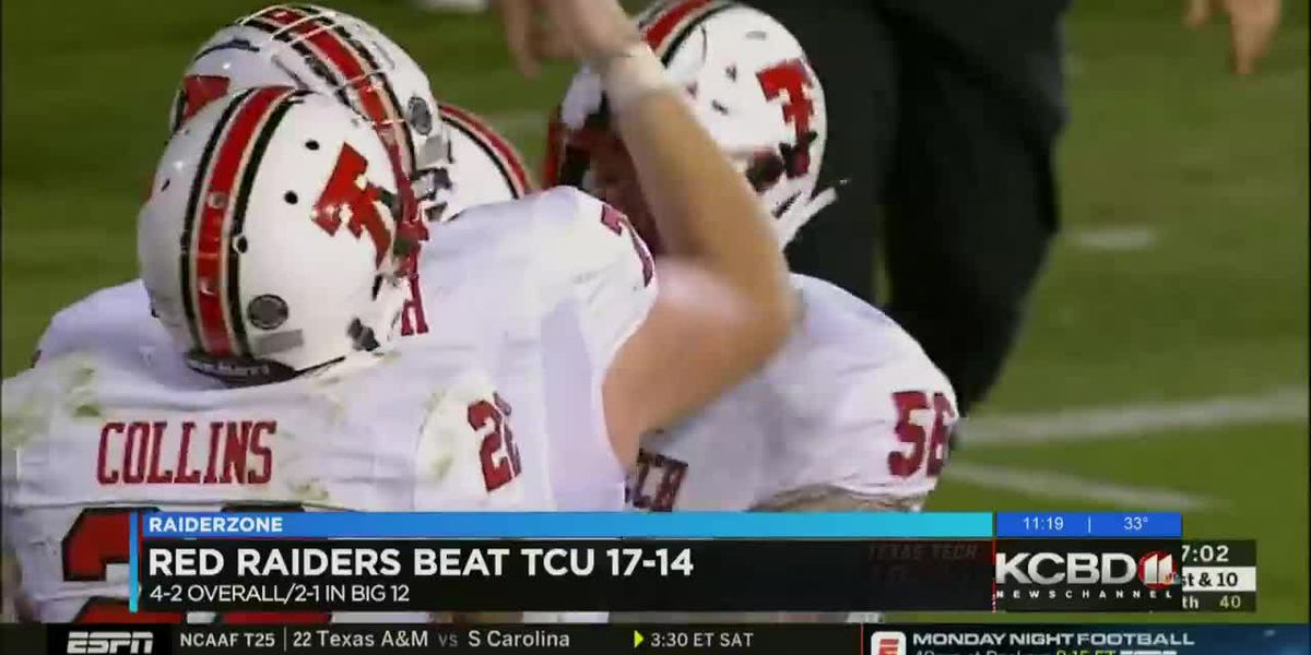 Red Raiders prepping for Kansas after big win