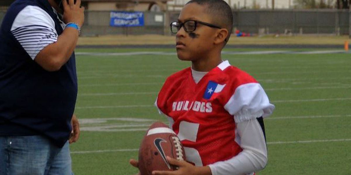 Plainview football team honors terminally ill teammate