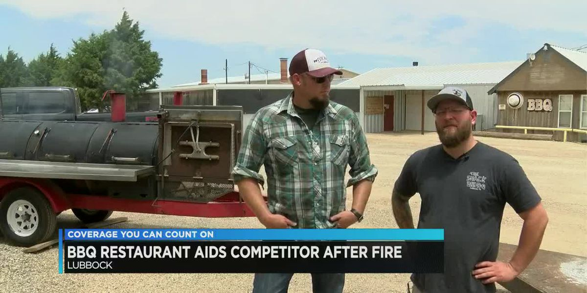 BBQ restaurant aids competitor after fire