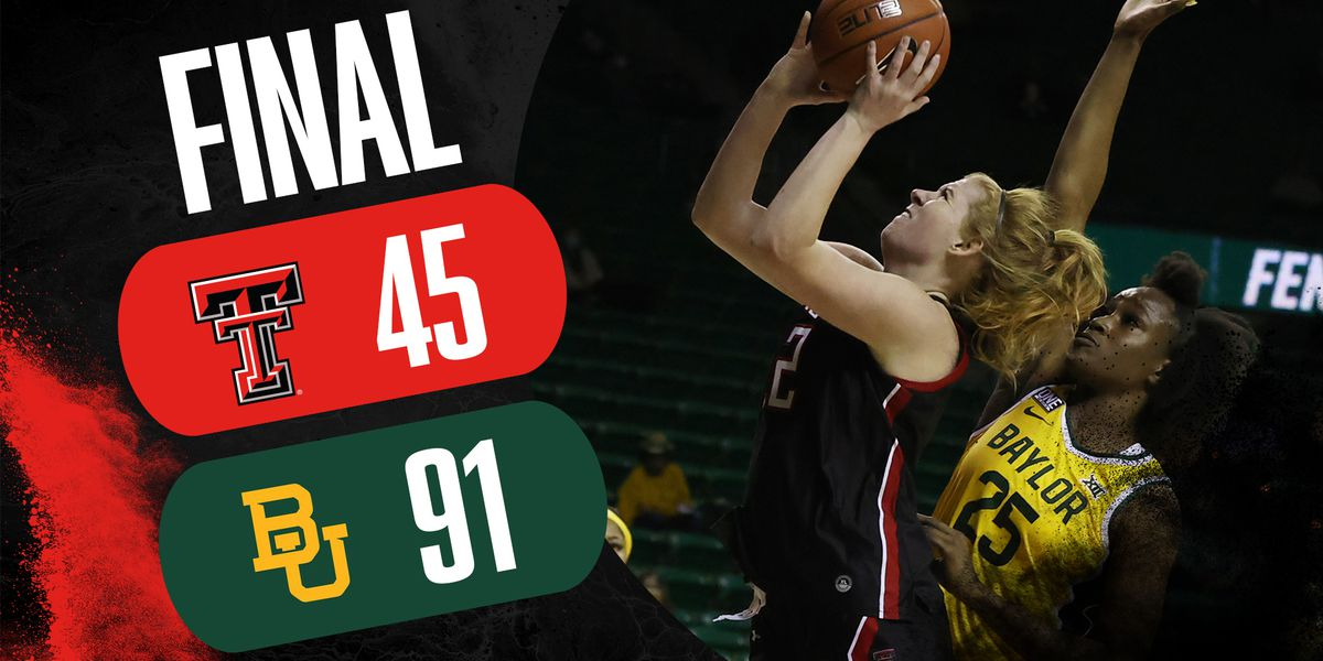 Lady Raiders fall to Baylor in conference opener