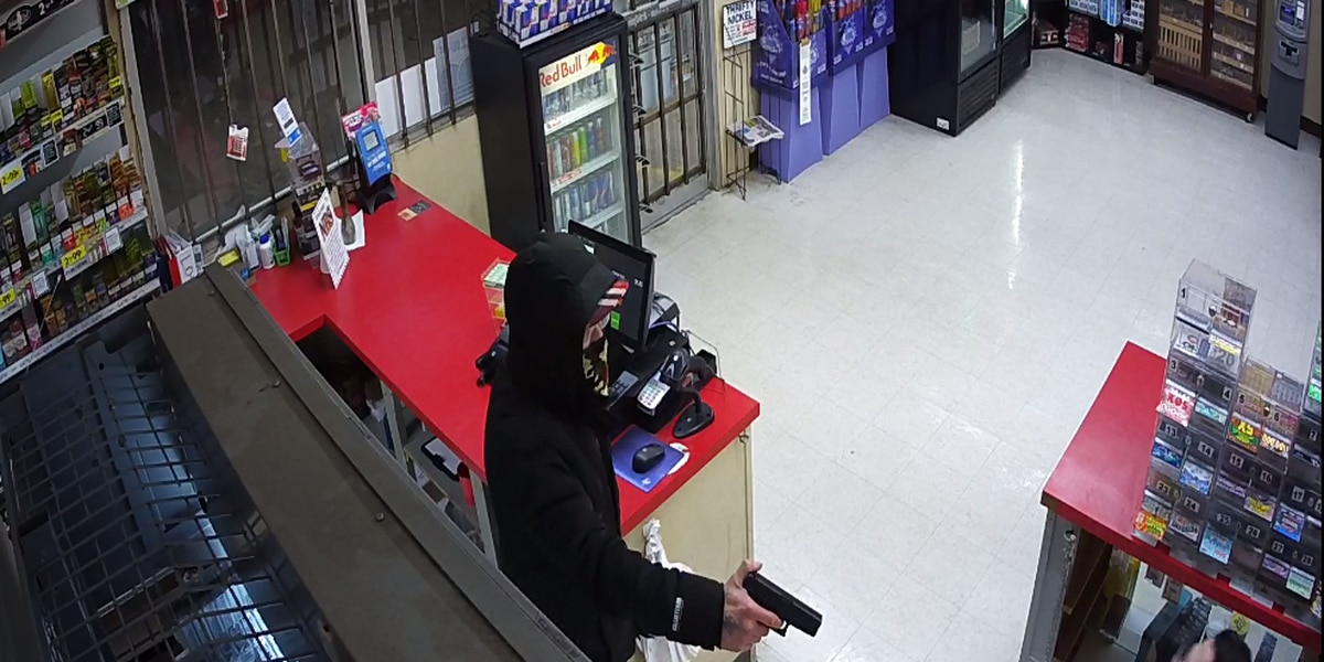 Police searching for suspect in armed robbery at Nothin' Butt Smokes