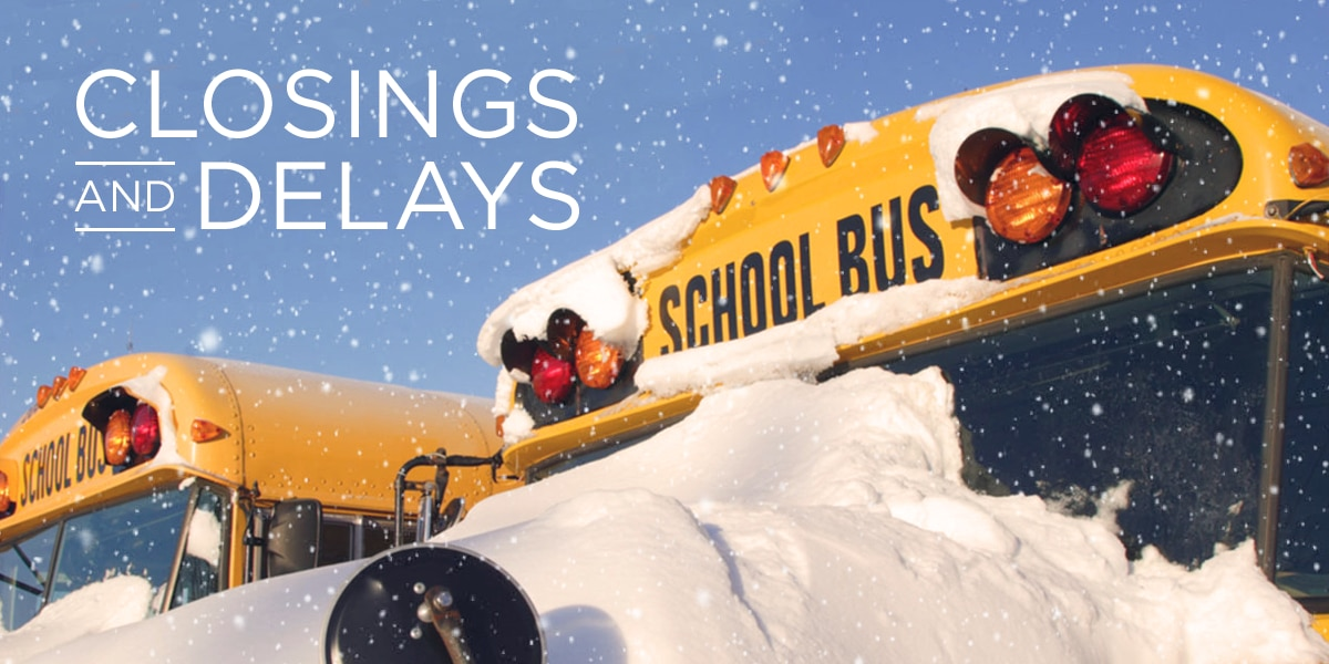 SCHOOL DELAYS: Basketball games moved up, some districts delayed start Tuesday