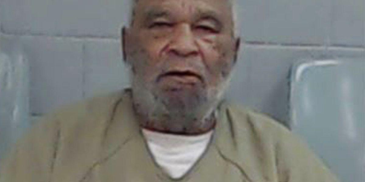 Serial Killer Sam Little escorted out of Ector Co. Jail