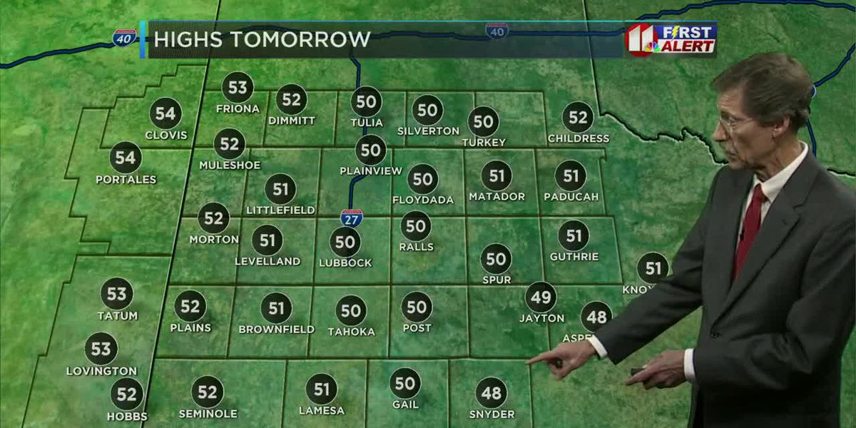 Areas of freezing drizzle and freezing fog possible through Friday morning