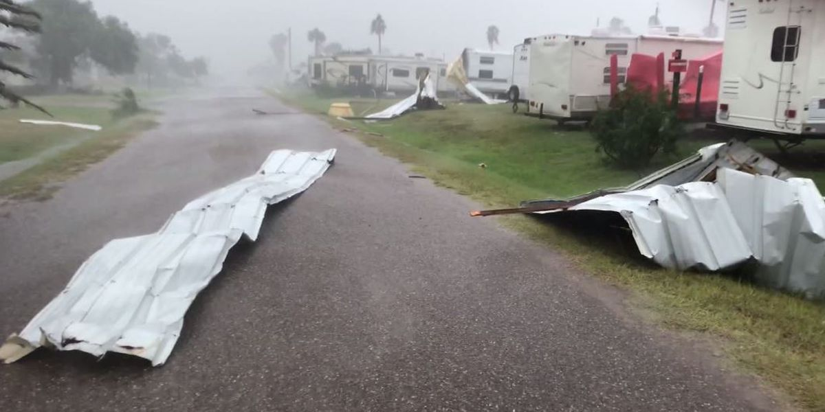Amid virus surge, South Texas coast drenched by cyclone