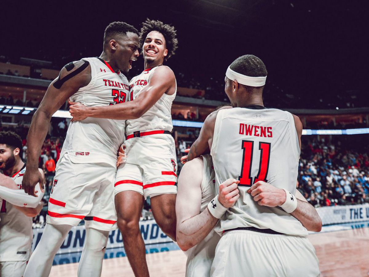 Red Raiders tame Bulls of Buffalo, headed to Sweet 16