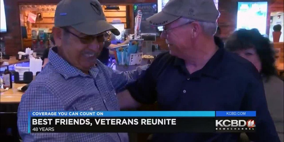 Best friends, war heroes reunite after 48 years
