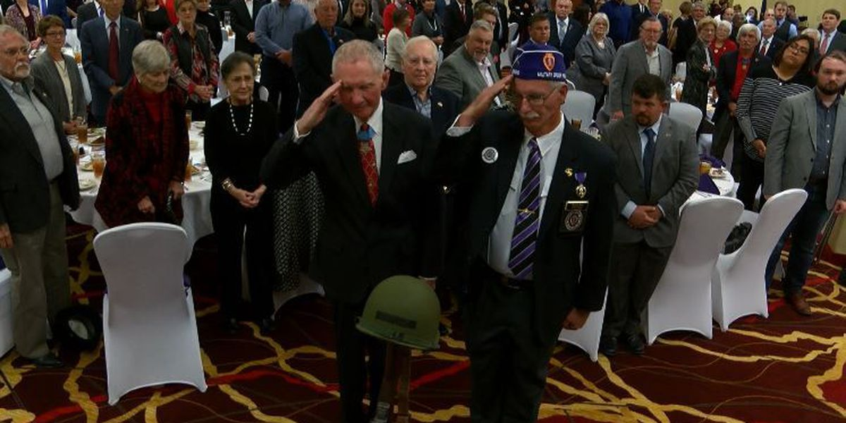 Veterans honored at Night of Courage banquet