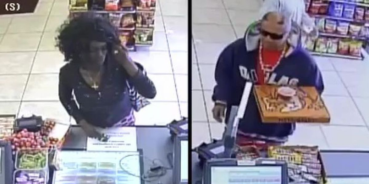Lubbock police searching for suspects accused of using stolen credit cards