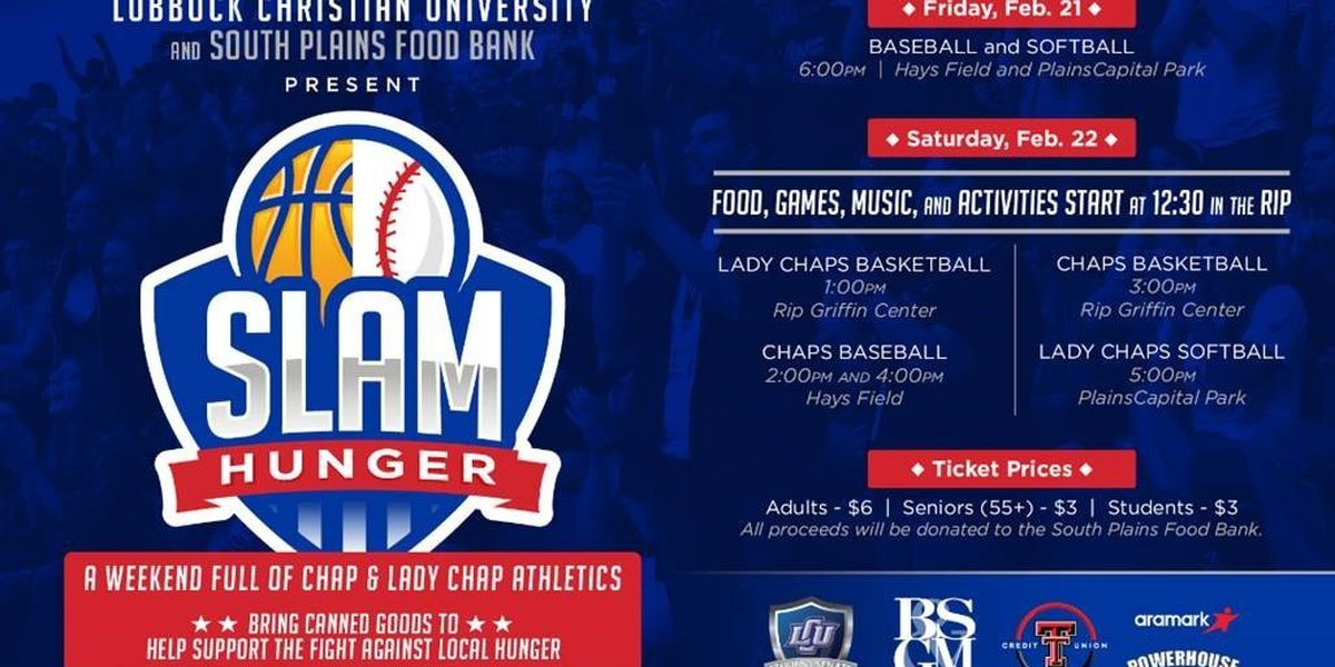 Proceeds from LCU weekend games go toward food bank