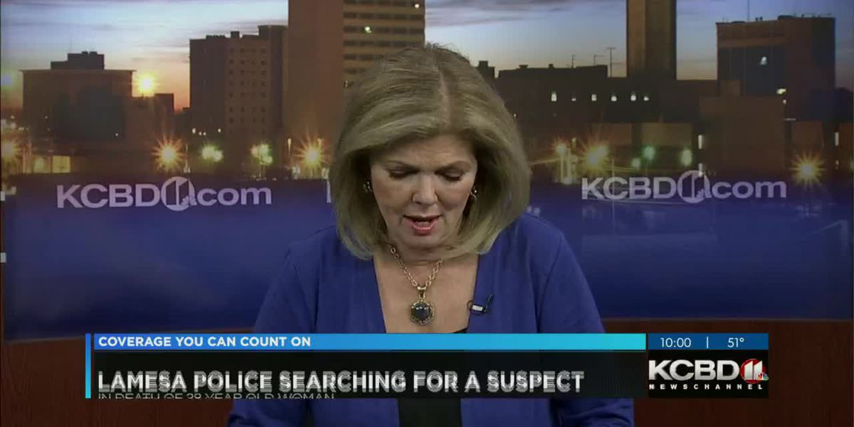 KCBD Newschannel 11 at 10 Expecting woman killed 10/21/2019