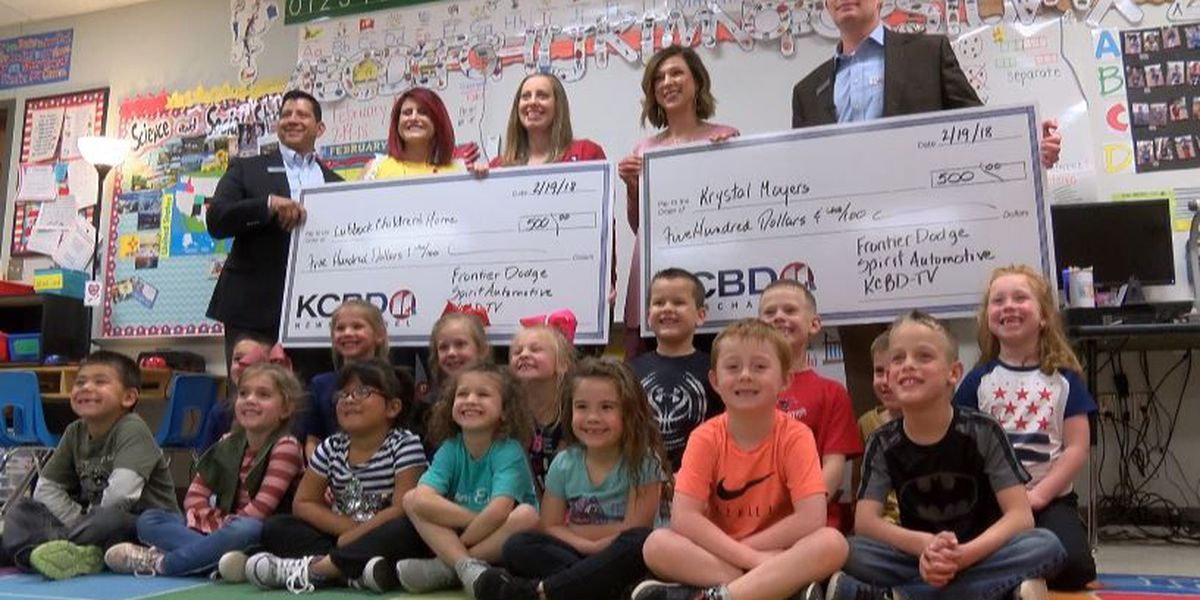 One Class At A Time: Shallowater Elementary School teacher, Children's Home awarded $500