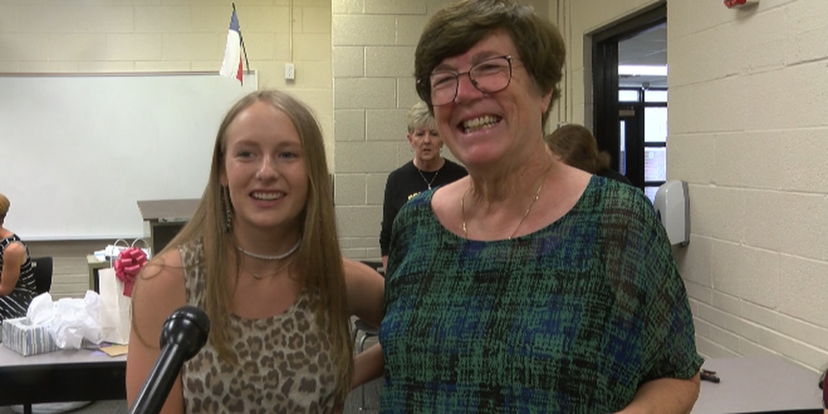Teacher at Post ISD retires after 50 years, granddaughter throws goodbye gathering