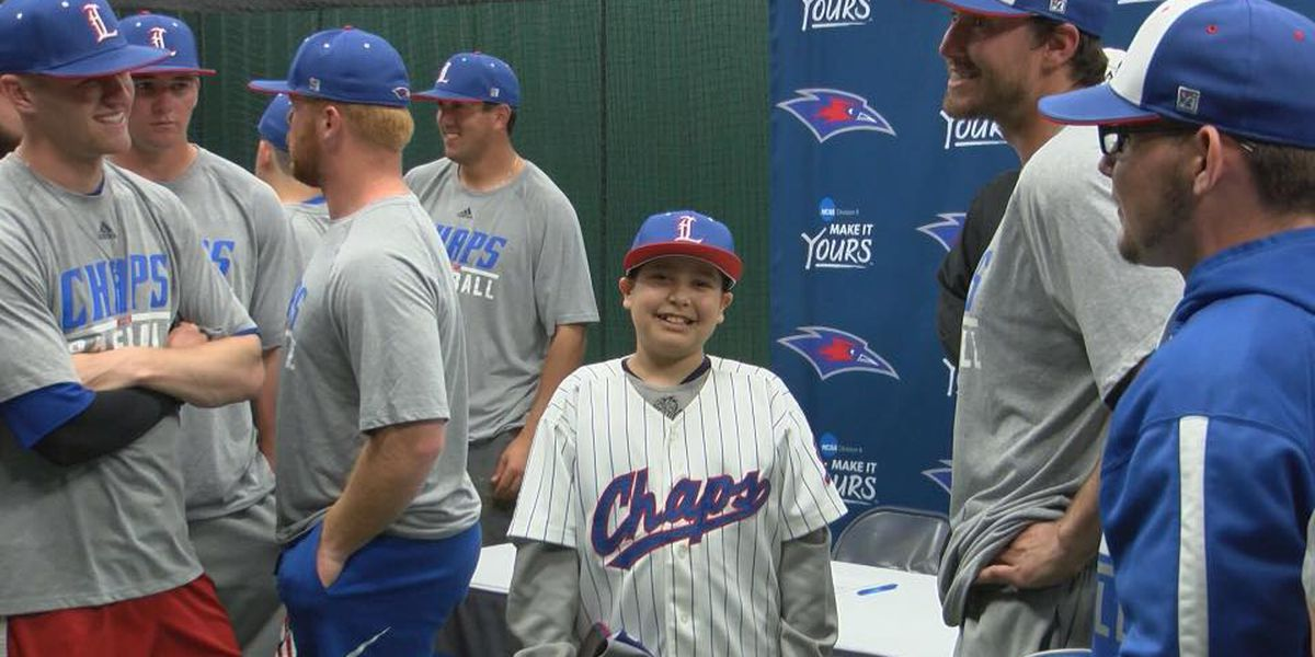 11-year-old signs Letter of Intent with LCU Baseball