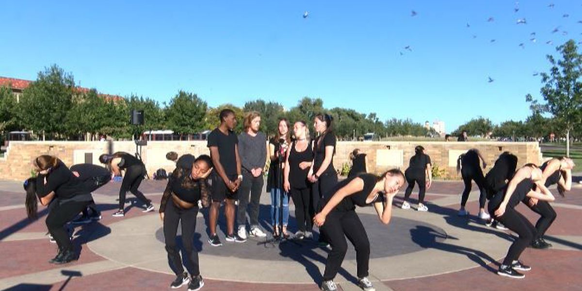 TTU Theater and Dance students perform tribute for Officer East