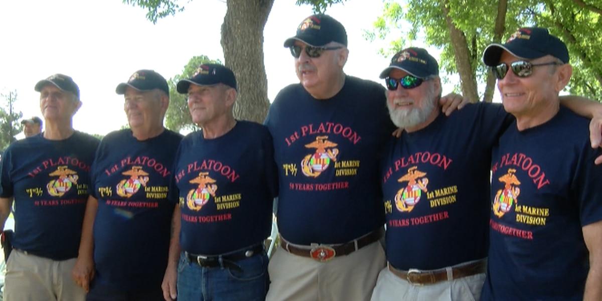Vietnam War veterans reunite in Lubbock and honor fallen comrades for Memorial Day