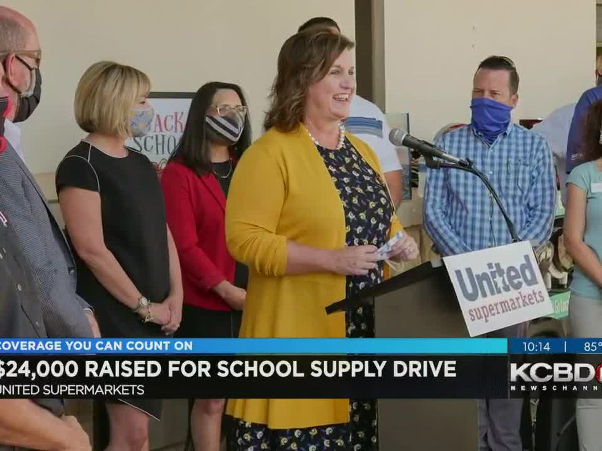United raises $24K in school supply drive