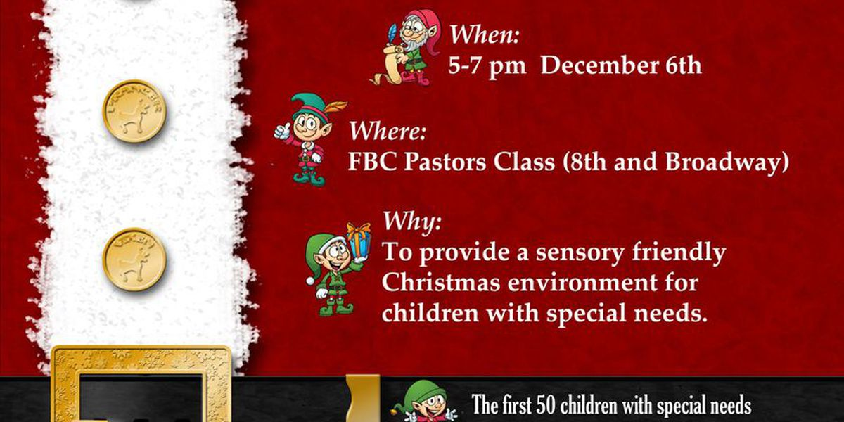 Nonprofit partners with church to offer Sensory Santa event