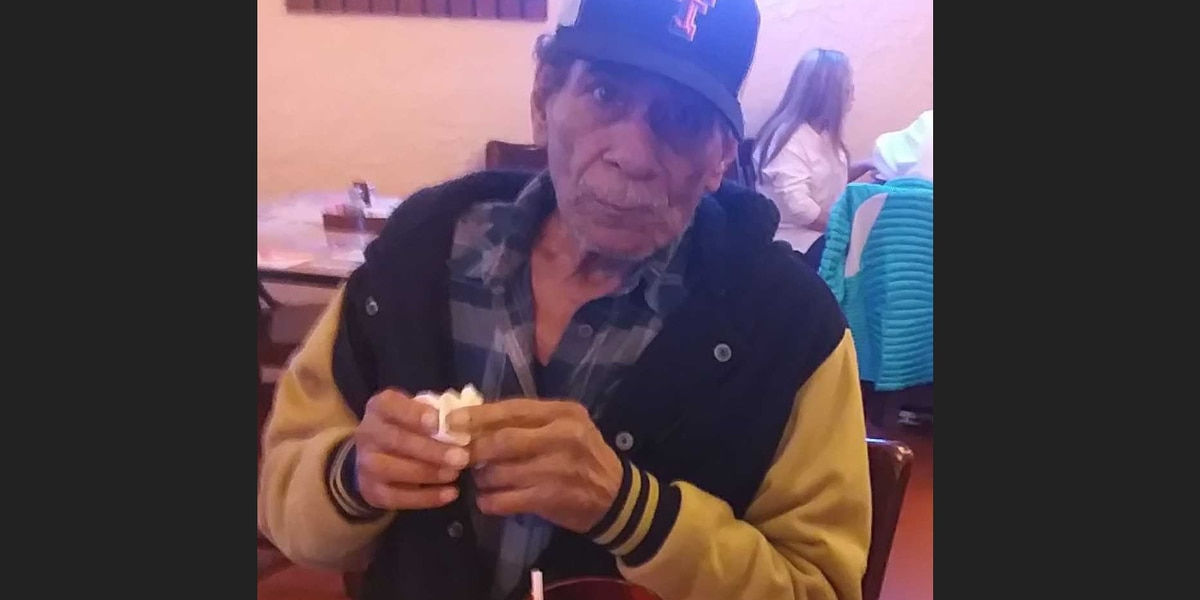 Lubbock police searching for missing 78-year-old man