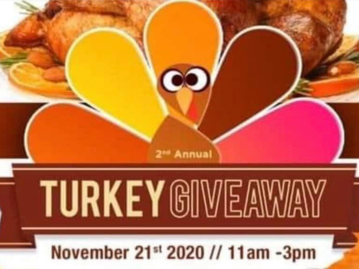 2nd Annual Turkey Giveaway at Rocc Solid Fitness Nov. 21