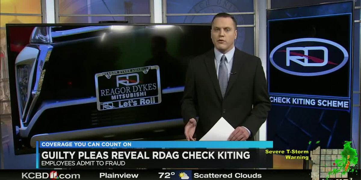 Guilty pleas reveal RDAG check kiting