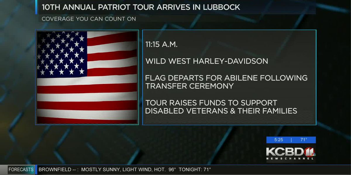 American Flag departs for Abilene following transfer ceremony