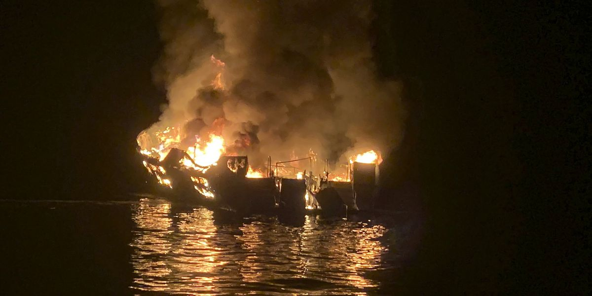 Cause of deadly Calif. boat fire still a mystery, official says