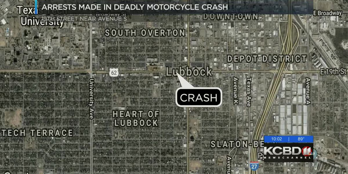 Two arrested in deadly motorcycle crash