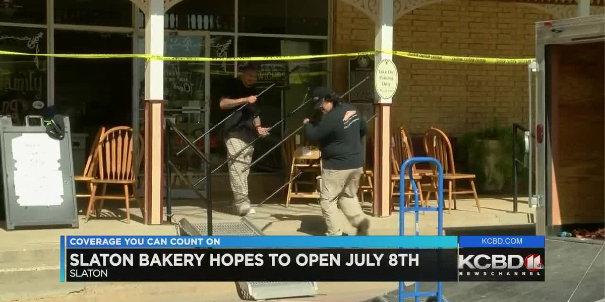 Slaton Bakery closed for another 2 weeks